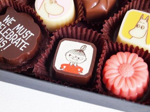 ムーミンのバレンタインチョコレート 2015年