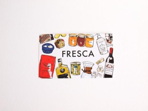 FRESCAのショップカード