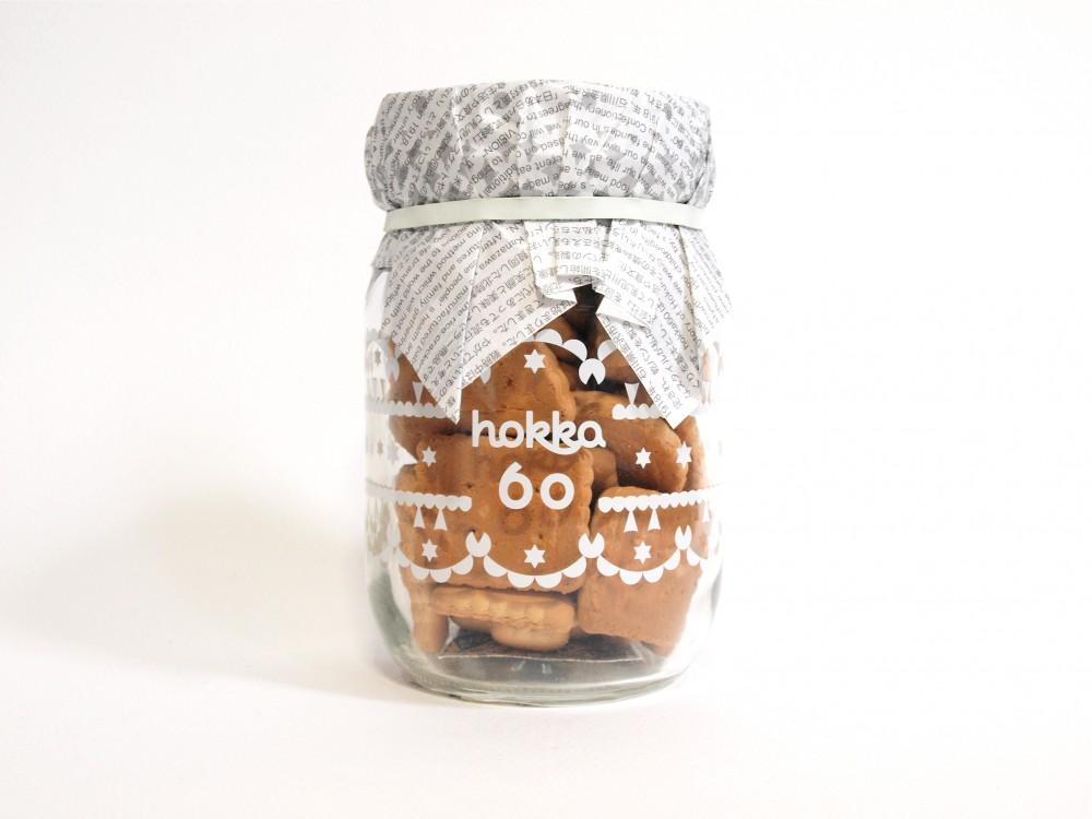 北陸製菓のビスケット hokka60(ホッカ)