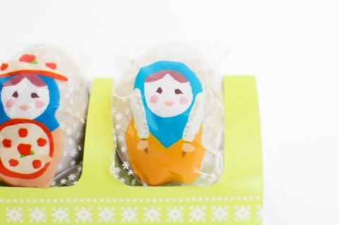 北海道・長谷川製菓「Hokkaido マトリョーシカ」