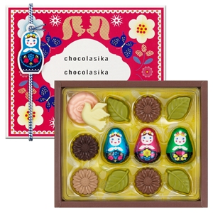 メリーチョコレートの「ショコラーシカ」