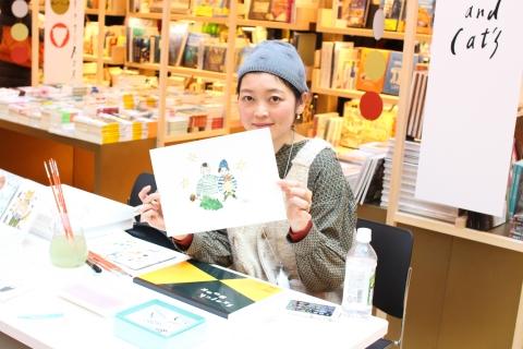 布川愛子さんの「動物の似顔絵屋さん」に行ってきました