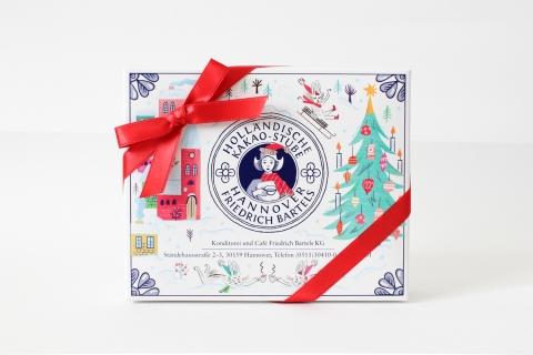 ホレンディッシェ・カカオシュトゥーベのクリスマスパッケージ