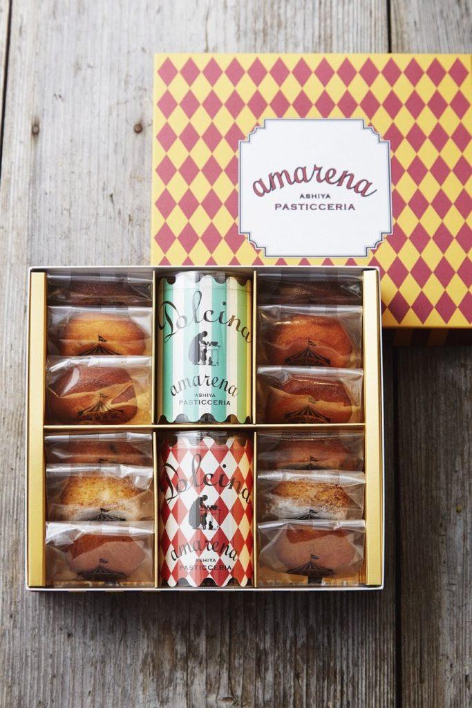 神戸芦屋「アマレーナ」の焼き菓子