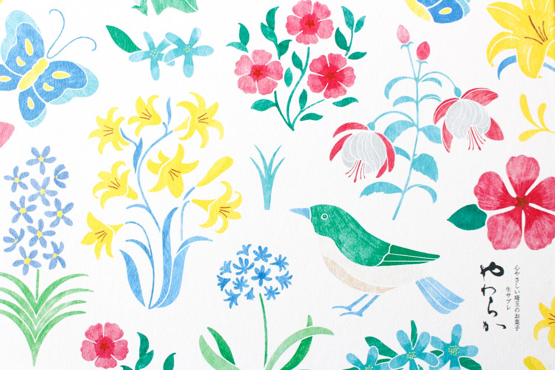 梅林堂「やわらか 夏の花畑」